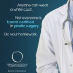 white coat ASPS ad