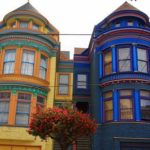 An example of the beautiful Victorian architecture in San Francisco. Courtesy of pandodaily.