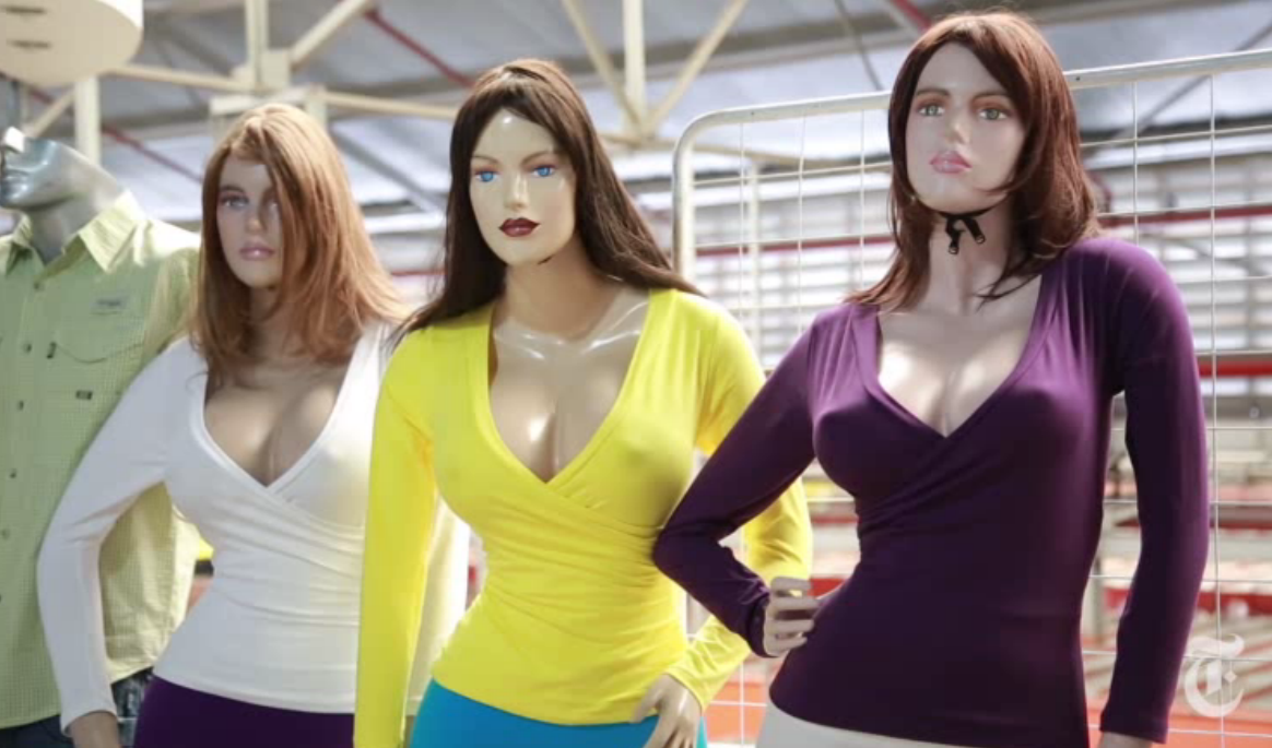 In Venezuela, Only The Mannequins Can Get A Boob Job