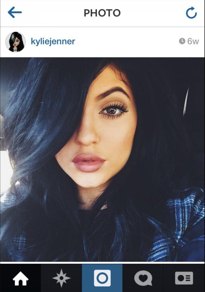 Kylie Jenner color