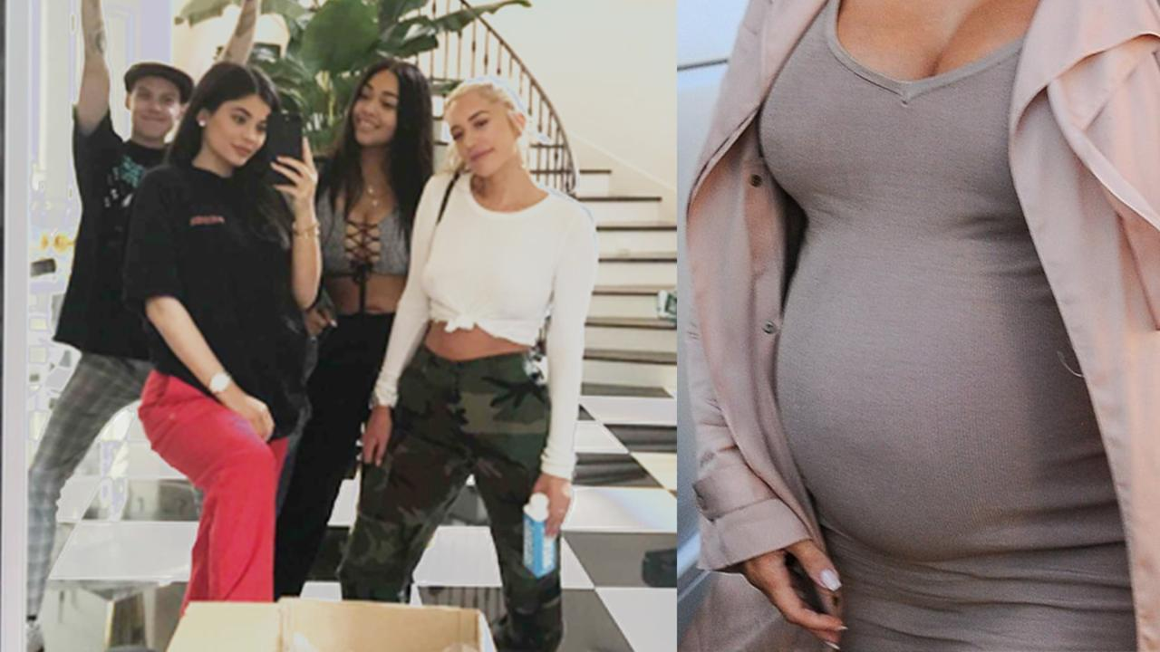 kylie is pregnant