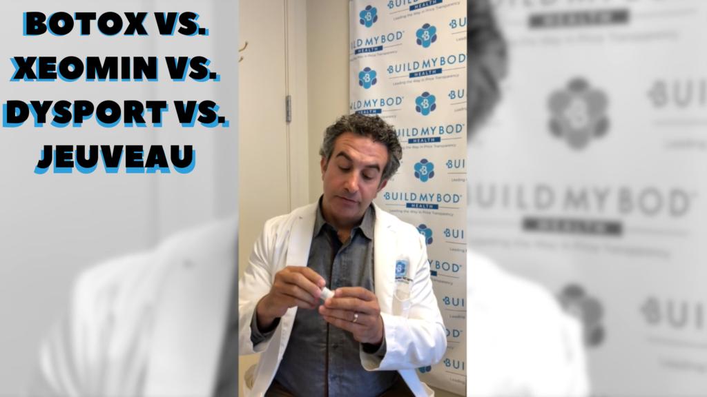 Botox vs. Xeomin Vs. Dysport Vs. Jeuveau