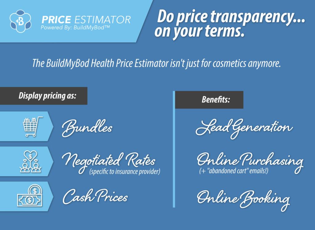publish your prices