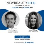 newbeauty Instagram live